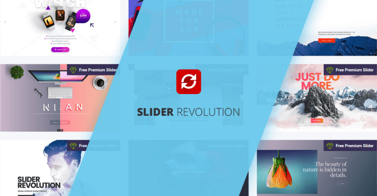 Using Revolution Slider WordPress Plugin