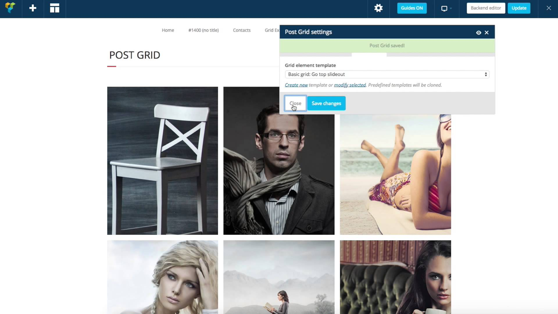 WordPress Posts Grid