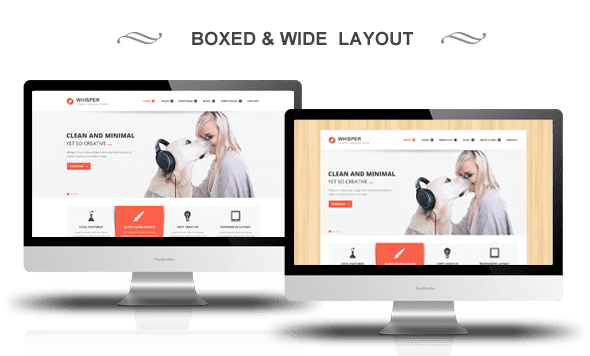 WordPress Boxed Site Style