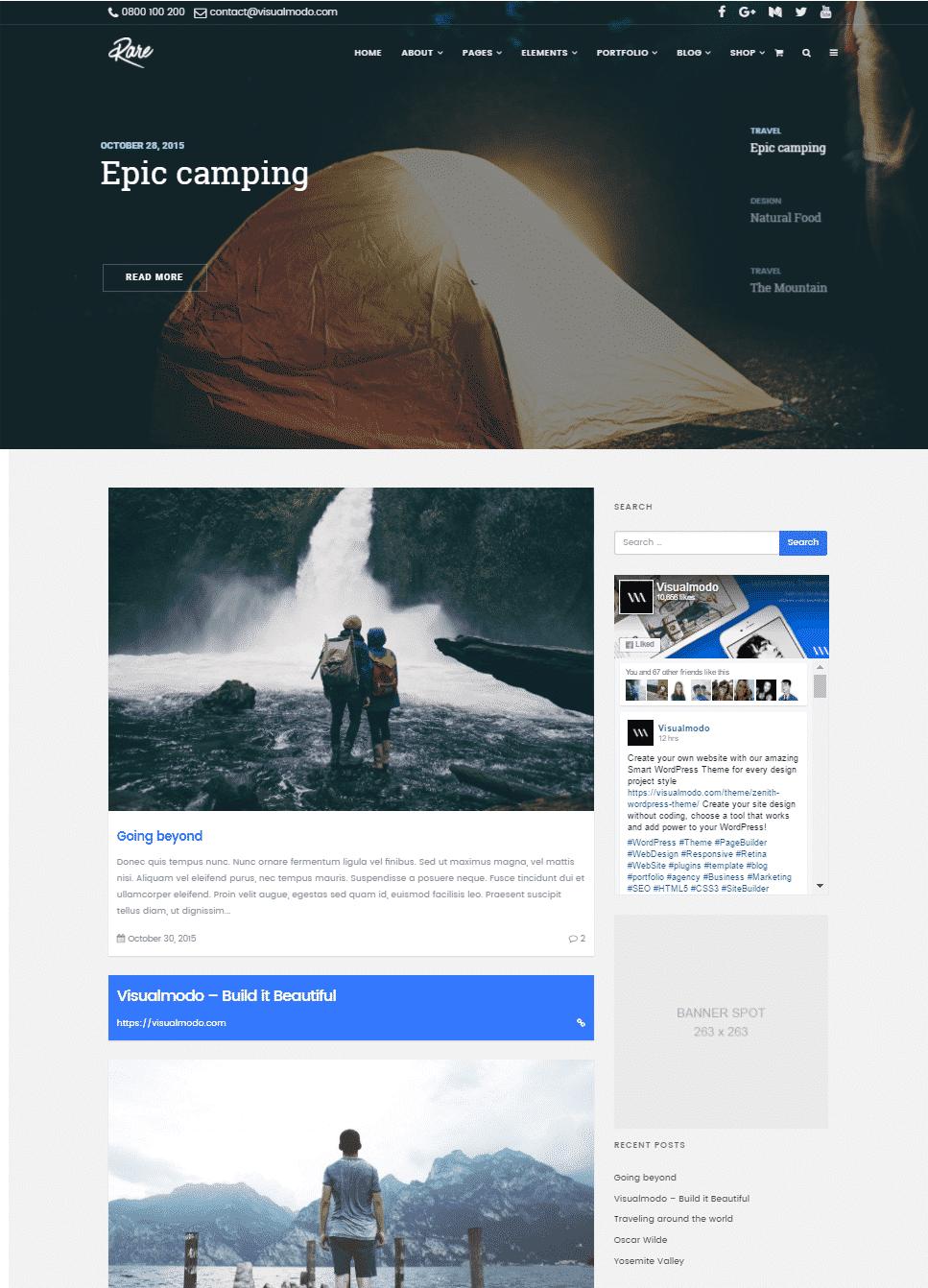Building Wordpress Blog Page Custom Posts Page Visualmodo Guides