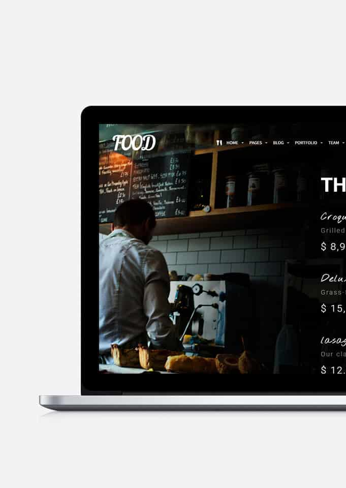 Food WordPress Theme – Restaurant, Pub & Bar Template