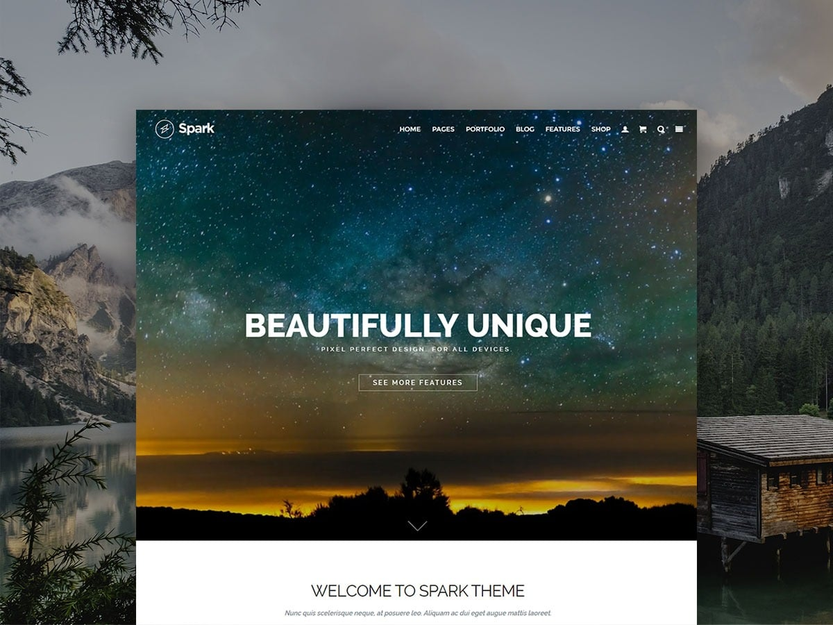 Spark WordPress Theme - Responsive Multi-Purpose Templates