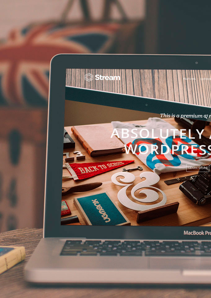 Stream WordPress Theme