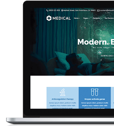 Medical Visualmodo WordPress Theme Documentation