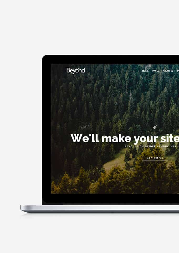 Beyond WordPress Theme Responsive All-In-One Template - Visualmodo