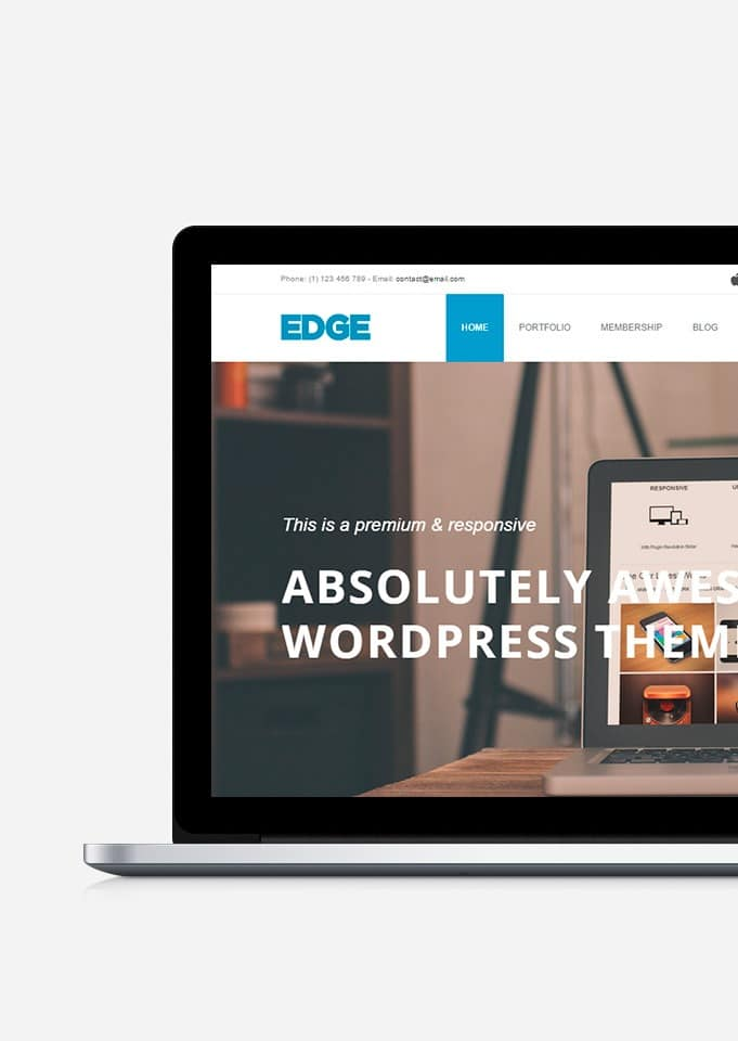 Edge WordPress Theme – Business and Agency Responsive Template