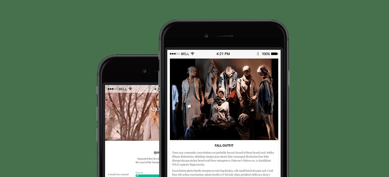 Ink WordPress Theme Blog Minimalist Responsive Template