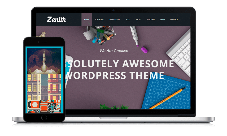 zenith-wordpress-theme-product-presentation