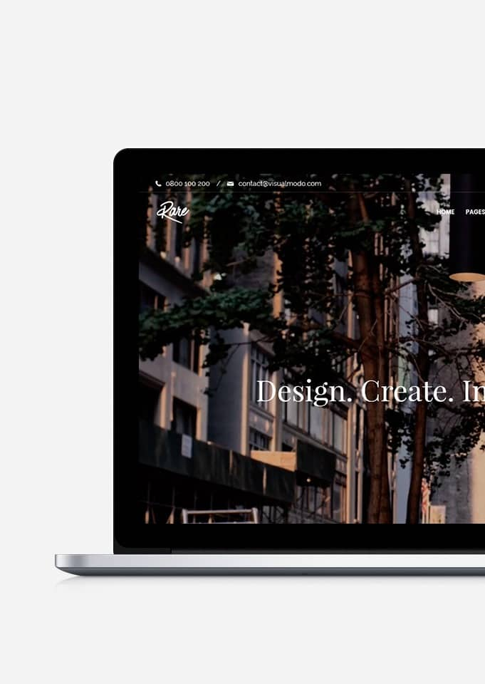 Rare Ultimate Responsive WordPress Theme – Multi-Purpose Template
