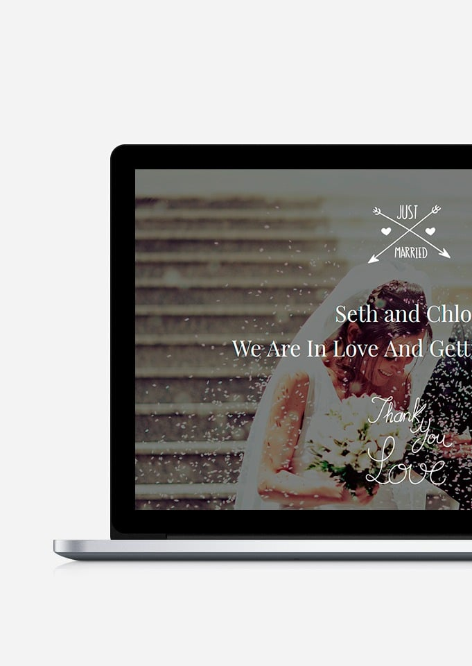 Wedding WordPress Theme – Responsive Events and Celebration Template