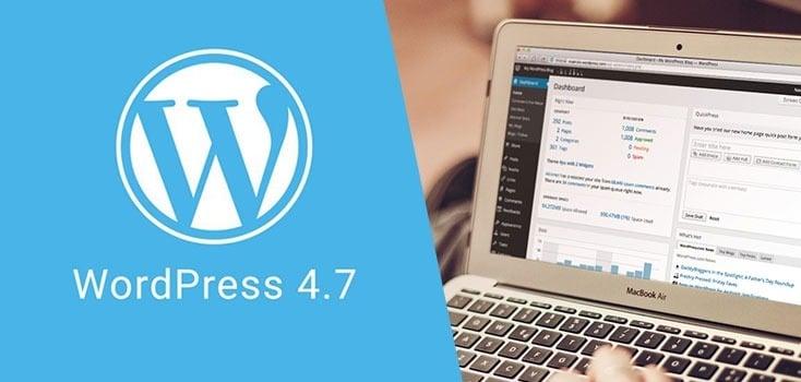 "Introducing WordPress 4.7 ""Vaughan"""