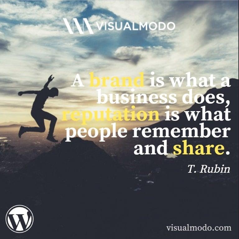 T. Rubin quotes - branding