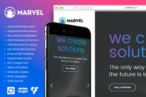 Marvel WordPress Theme