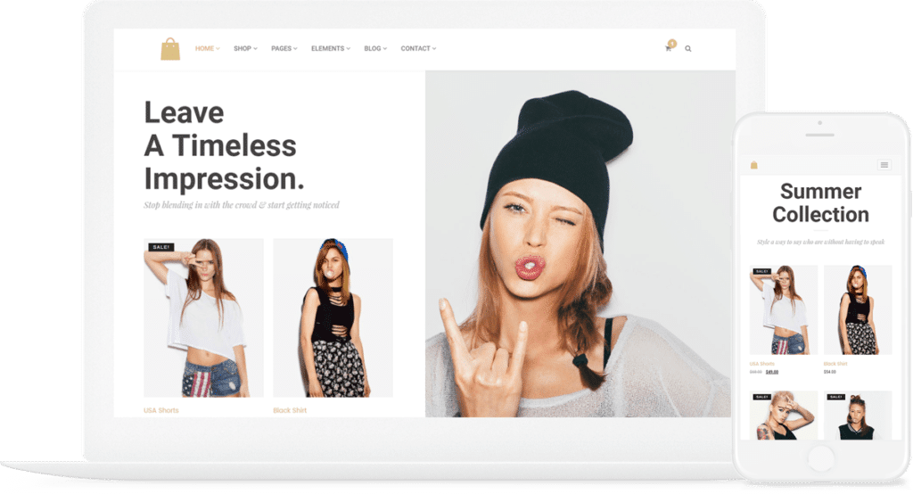 Seller WordPress theme Visualmodo ecommerce template and woocommerce theme