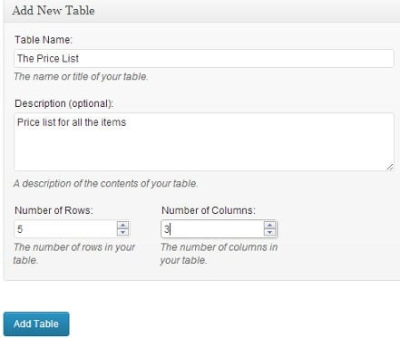 How to Add Tables in WordPress Posts and Pages Without Coding