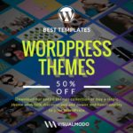 50% discount WordPress Themes promotion – JUNESALE