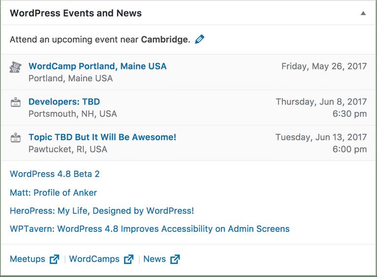 WordPress 4.8 Release