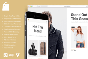 Seller eCommerce WordPress Theme Visualmodo Shop Template and WooCommerce WordPress Theme