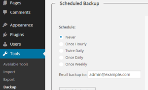 Best WordPress Backup Plugins 6. WP-DB-Backup
