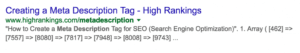 Meta Description How to write it for better SEO