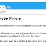 How to Fix WordPress Internal Server Error
