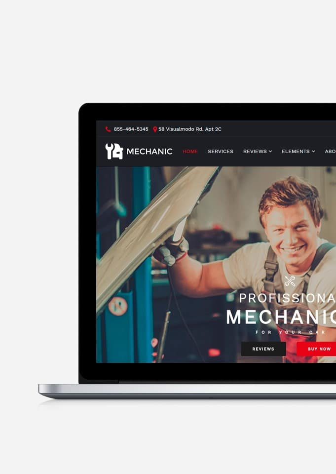 Mechanic WordPress Theme – Auto & Car Repair Site Builder