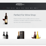 Best Wine WordPress Theme - Responsive Wine Site Builder