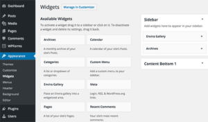 WordPress Widgets Guide