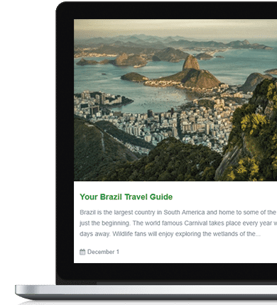 Traveler Visualmodo WordPress Theme Documentation
