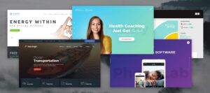 wordpress-theme-opening home page - site builder