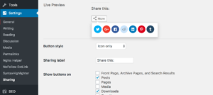 Best Social Sharing WordPress Plugins - network