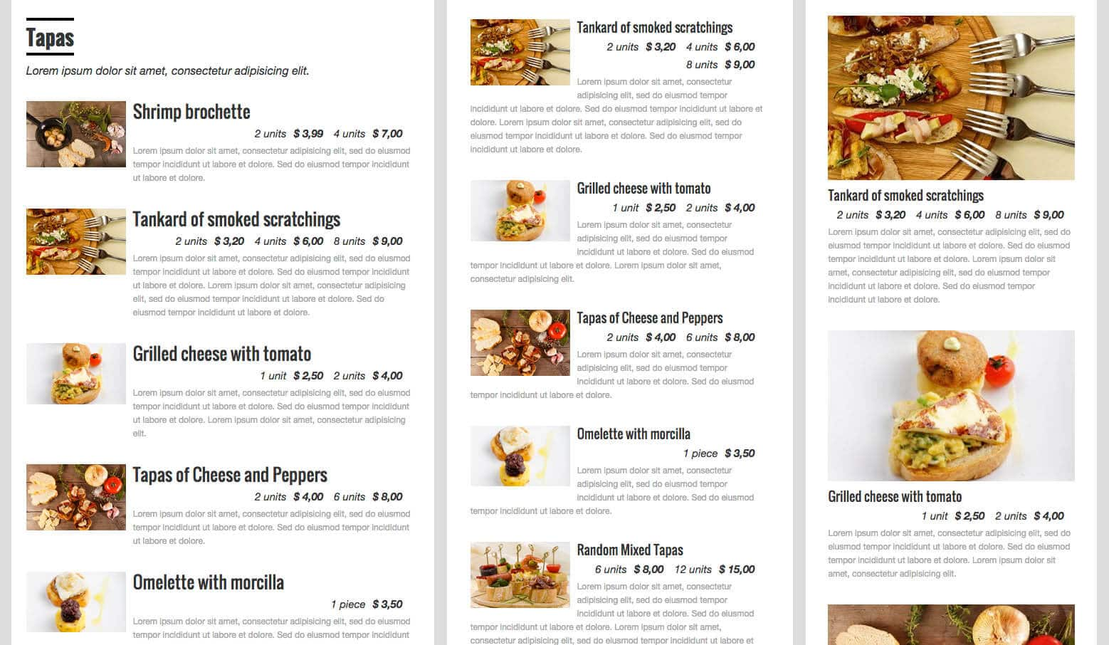 RestaurantPress - Best freemenu and restaurant WordPress plugins