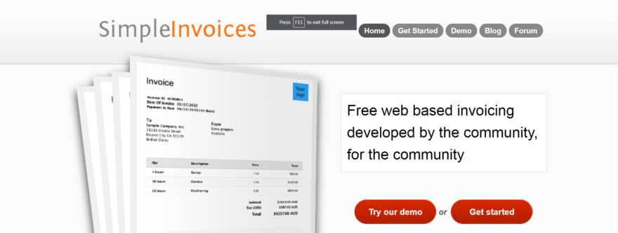 free invoices software that can help your business simple invoices