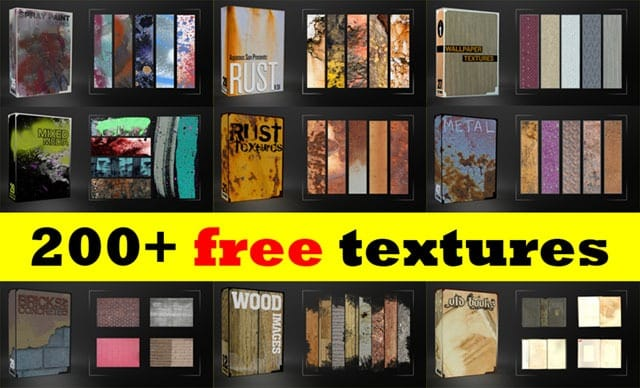200 Diverse Textures