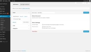 How To Edit WordPress Menus - Create Menu