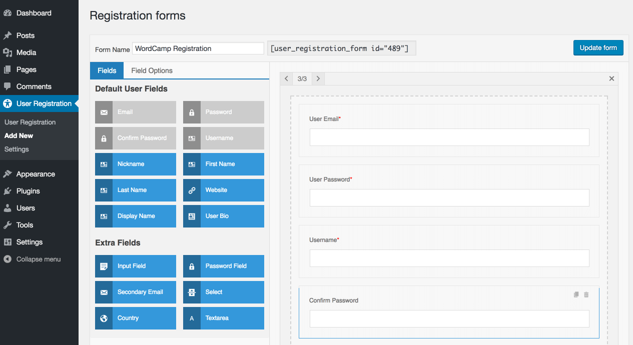 How to create a Beautiful WordPress User Registration Form - WordPress Plugin
