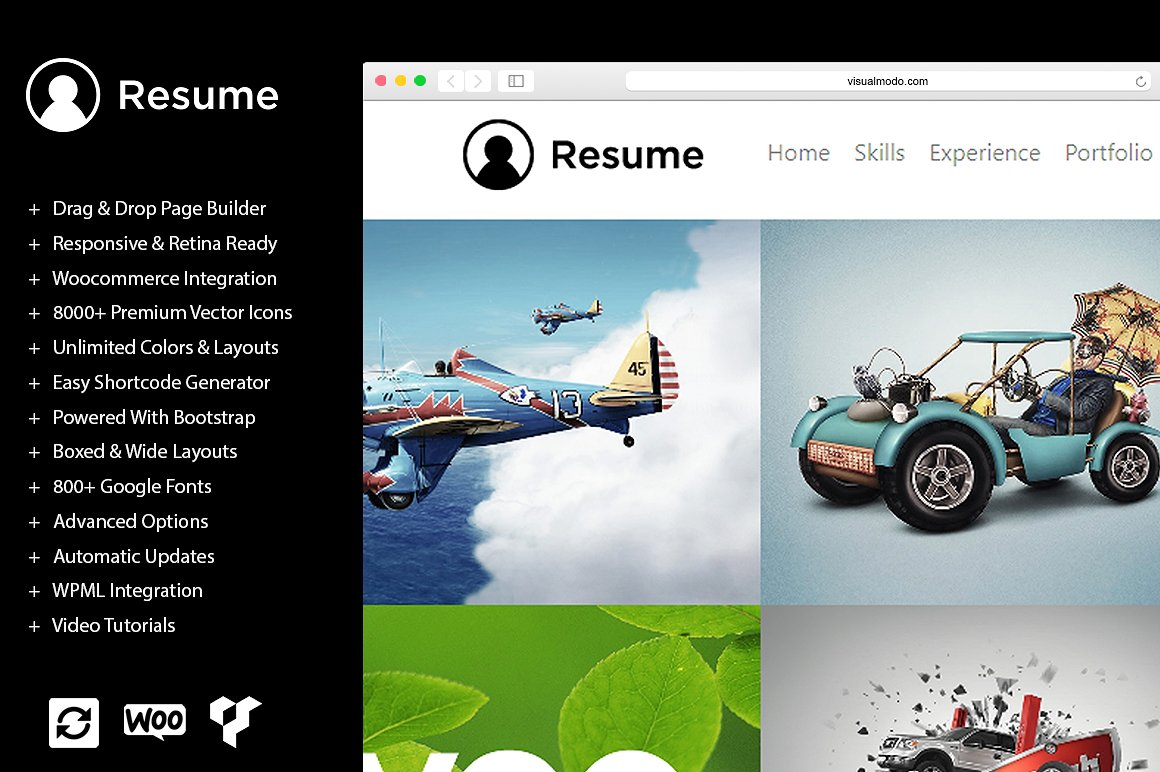 resume wordpress theme documentation
