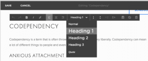 How To Use Headings For SEO