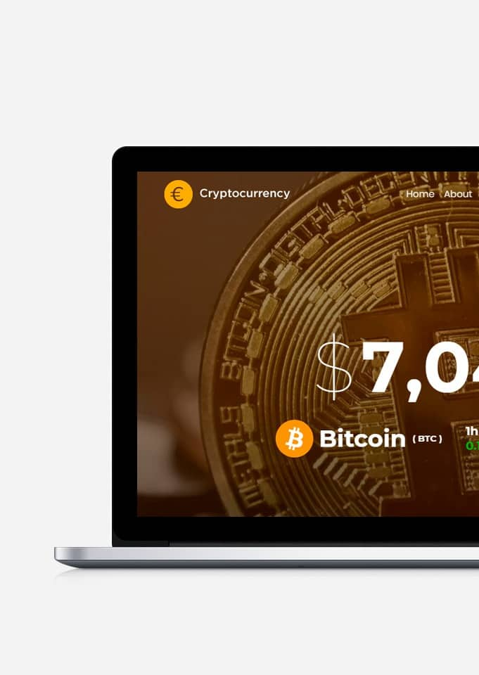 Cryptocurrency WordPress Theme - Responsive Crypto Template