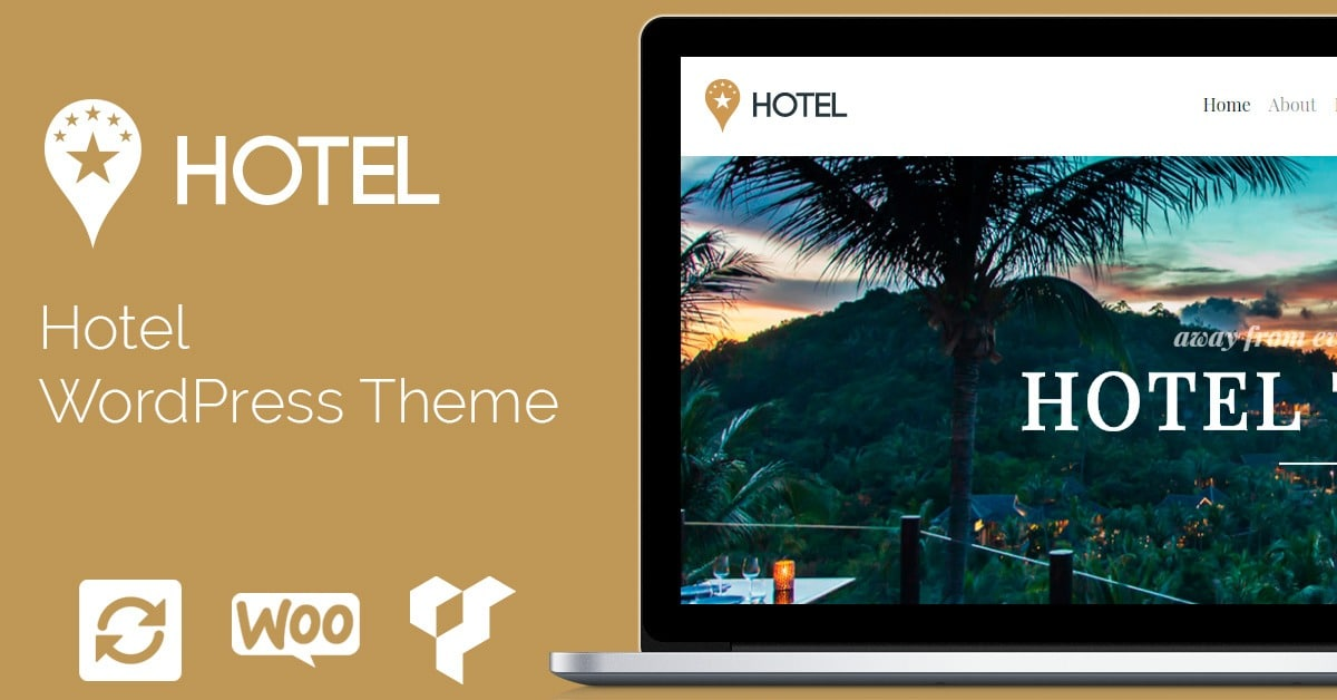 Hotel WordPress Theme - Responsive Hotel Website Builder by Visualmodo