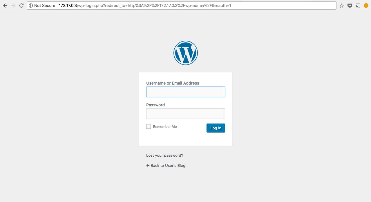 Login Page Redirecting