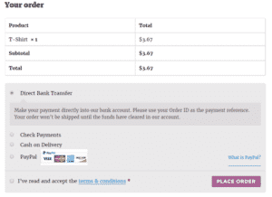 Checkout Page Page - WooCommerce WordPress Plugins