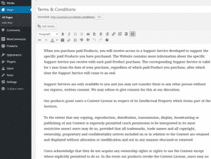 Terms and Conditions Page - WooCommerce WordPress Plugins