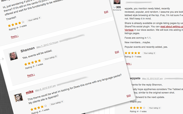 Free Star Rating WordPress Plugins