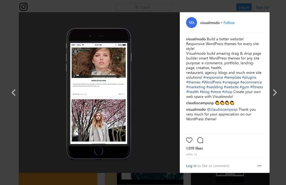 Embed Instagram Photos In WordPress Posts