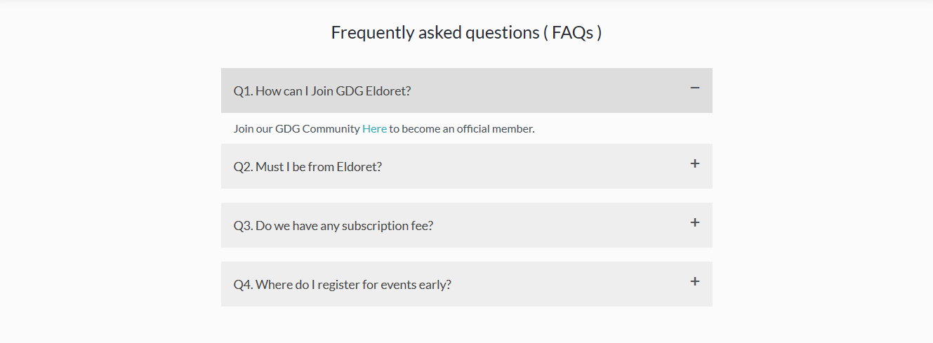 WordPress FAQ plugin