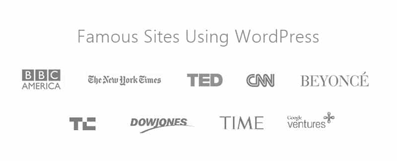 Famous Sites Using WordPress