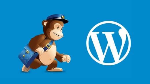 Free Newsletter In WordPress With MailChimp