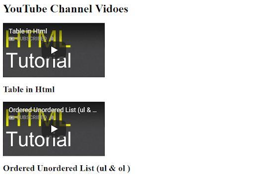 Video ID