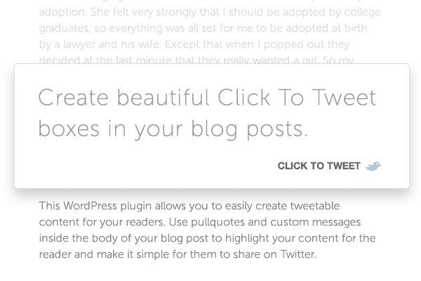 ClickToTweet Share Contents In Twitter Simpler